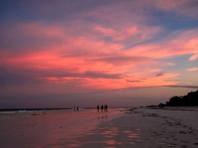 Una playa en La India