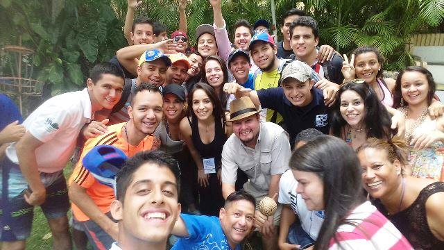 Participación del Soc. Orlando Franquiz, Especialista Juvenil de RieJoven, en el Campamento Líder Joven, coordinado por la Organización Venezolana de Jóvenes de las Naciones Unidas (OVJNU) - Abril 2016