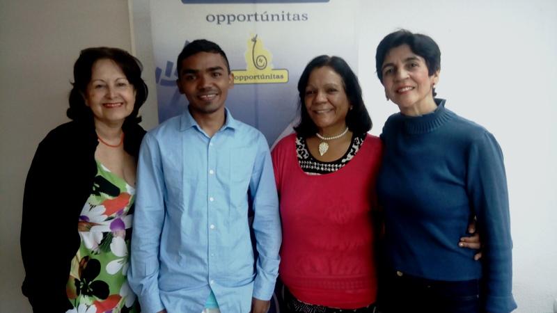 El joven José Gudiño es un lider ecológico del Estado Amazonas apoyado por Opportúnitas