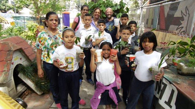 Las escuelas visitan con frecuencia el Vivero San Pedro