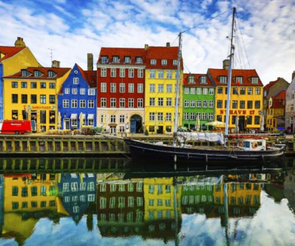 Ciudad vieja de Copenhagen