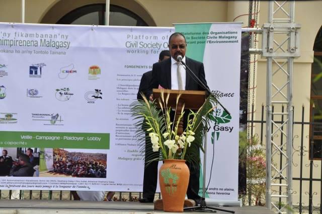 Ndranto Razakamanarina, presidente de la Alliance Voahary Gasy