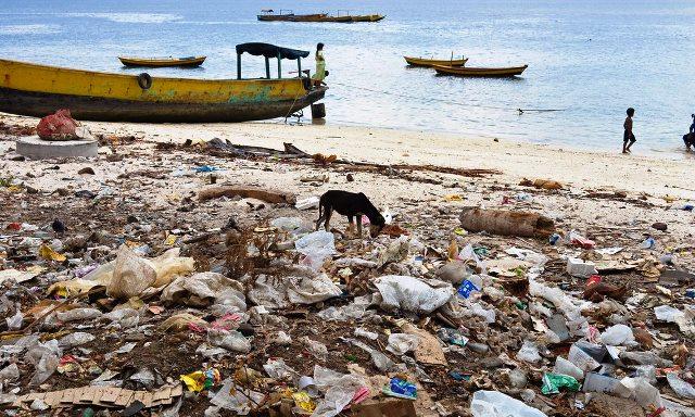 Situación crítica de playas de Bali