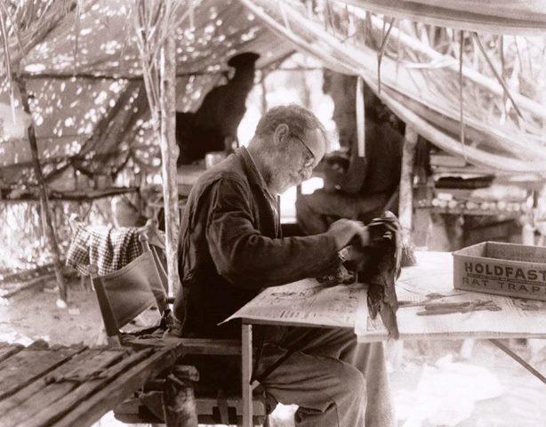 Estudioso de la ornitologia. Foto cortesía Fundación William H. Phelps