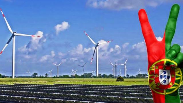 Energías limpias en Portugal