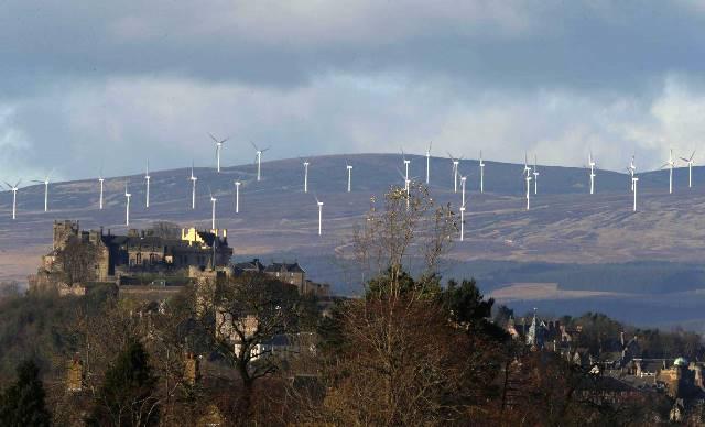 Escocia campeona en energías limpias