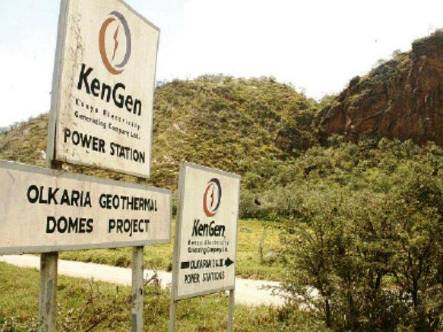 Estación geotérmica KenGen
