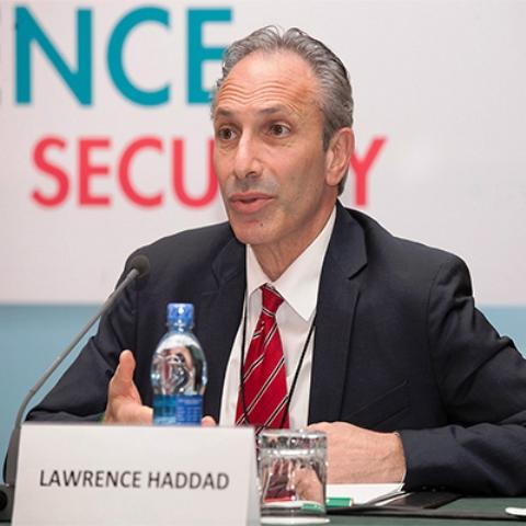 Lawrence Haddad, director de la Global Alliance for Improved Nutrition