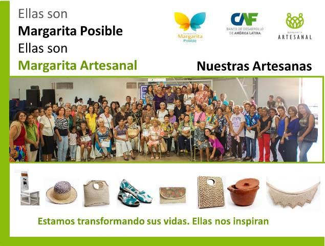 Ellas son protagonistas de Margarita ARTESANAL y POSIBLE con ARTESANIAS
