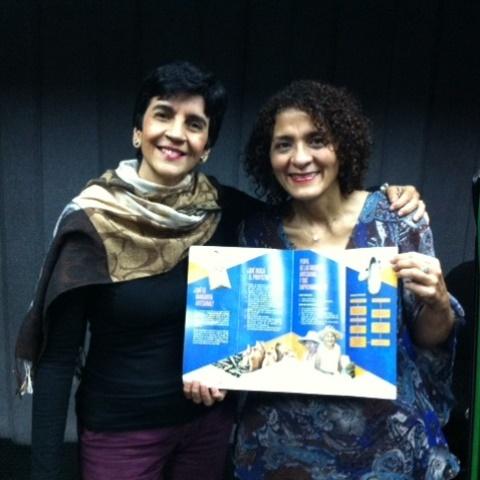 Roxanys Paredes con Marisela Valero. Foto Fernando Camacho